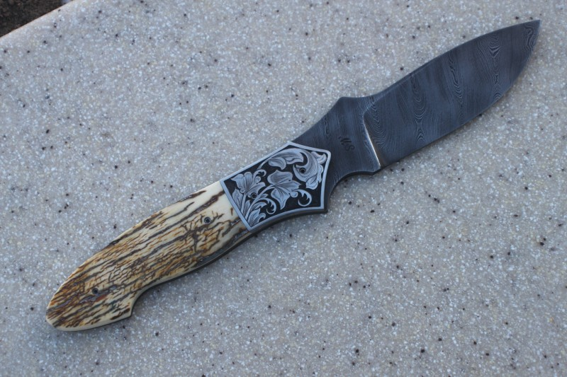 Just finished, Nomad, mammoth ivory, my engraving