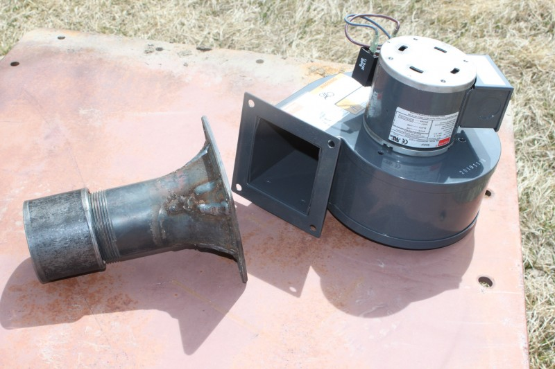 Blower and air adapter